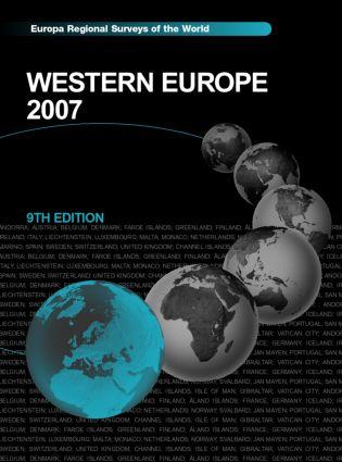 Western Europe 2007: 9th Edition (Hardback) book cover