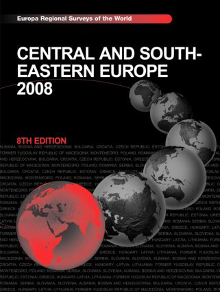 Central and South-Eastern Europe 2008 book cover