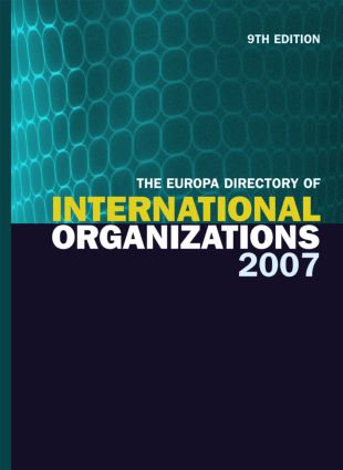 The Europa Directory of International Organizations 2007 book cover