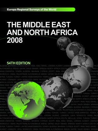 The Middle East and North Africa 2008: 54th Edition (Hardback) book cover