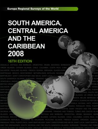 South America, Central America and the Caribbean 2008 book cover