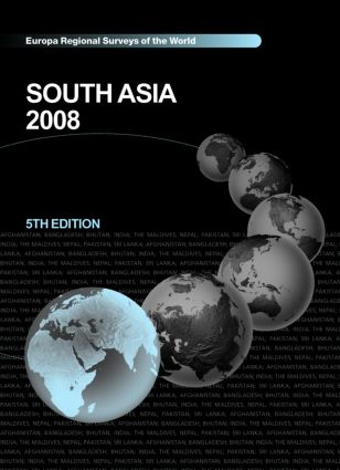 South Asia 2008 book cover