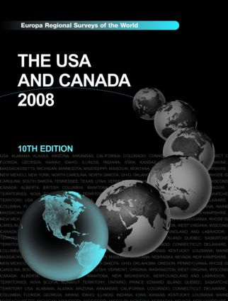 USA and Canada 2008: 10th Edition (Hardback) book cover