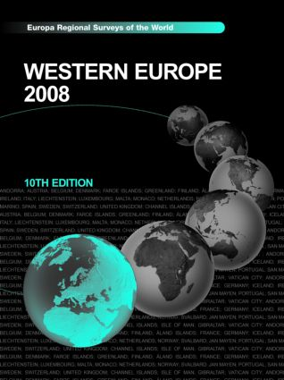 Western Europe 2008: 10th Edition (Hardback) book cover