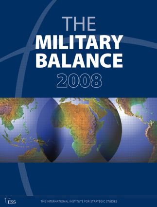 The Military Balance 2008 book cover