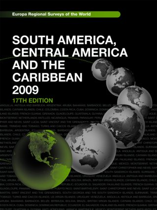 South America, Central America and the Caribbean 2009: 17th Edition (Hardback) book cover