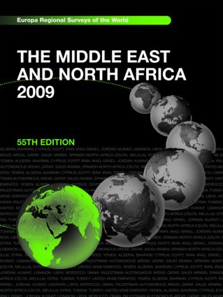 Middle East and North Africa 2009: 55th Edition (Hardback) book cover