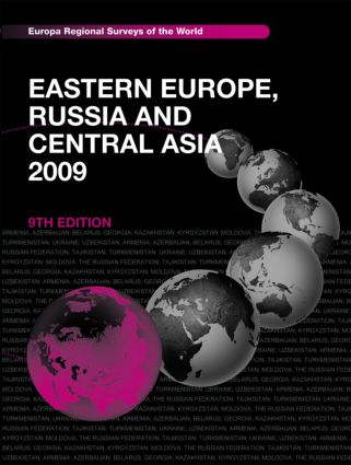 Eastern Europe, Russia and Central Asia 2009: 9th Edition (Hardback) book cover