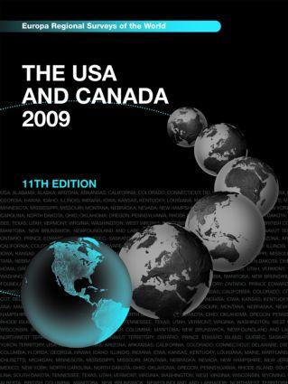 USA and Canada 2009: 11th Edition (Hardback) book cover