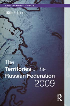 The Territories of the Russian Federation 2009 book cover