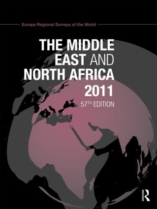 Middle East and North Africa 2010: 56th Edition (Hardback) book cover