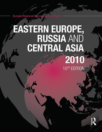 Eastern Europe, Russia and Central Asia 2010: 10th Edition (Hardback) book cover