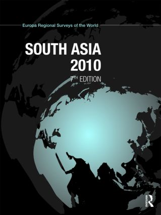 South Asia 2010: 7th Edition (Hardback) book cover
