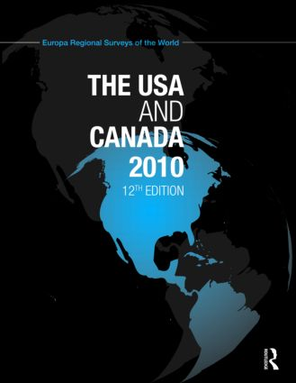 USA and Canada 2010: 12th Edition (Hardback) book cover