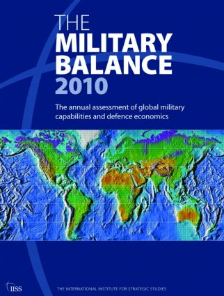 The Military Balance 2010 (Paperback) book cover