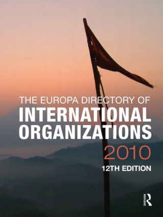 Europa Directory of International Organizations 2010: 12th Edition (Hardback) book cover