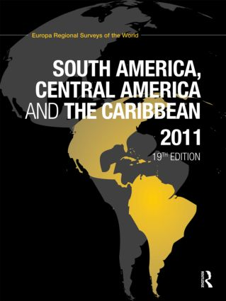 South America, Central America and the Caribbean 2011 book cover