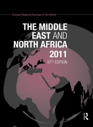 The Middle East and North Africa 2011: 57th Edition (Hardback) book cover