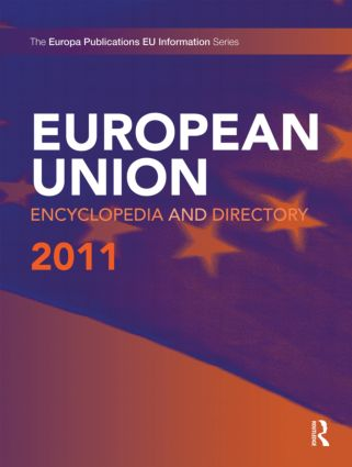 European Union Encyclopedia and Directory 2011: 11th Edition (Hardback) book cover