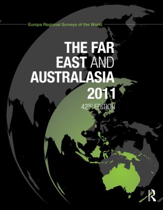 The Far East and Australasia 2011: 42nd Edition (Hardback) book cover