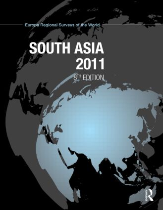 South Asia 2011: 8th Edition (Hardback) book cover