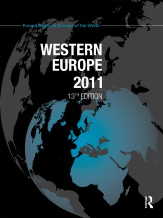 Western Europe 2011: 13th Edition (Hardback) book cover