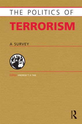 Politics of Terrorism: A Survey (Paperback) book cover