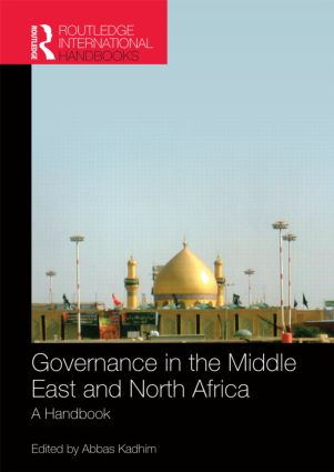 Governance in the Middle East and North Africa: A Handbook (Hardback) book cover