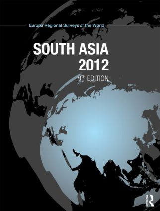 South Asia 2012: 9th Edition (Hardback) book cover