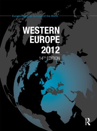 Western Europe 2012: 14th Edition (Hardback) book cover