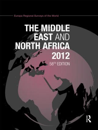 The Middle East and North Africa 2012: 58th Edition (Hardback) book cover
