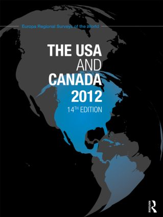 The USA and Canada 2012: 14th Edition (Hardback) book cover