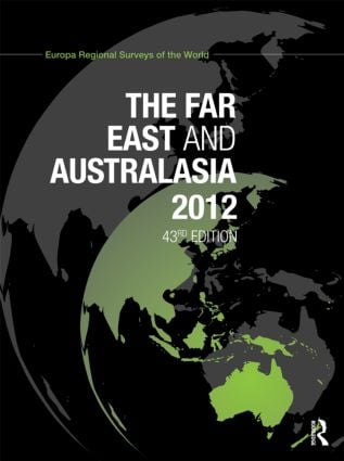 The Far East and Australasia 2012: 43rd Edition (Hardback) book cover