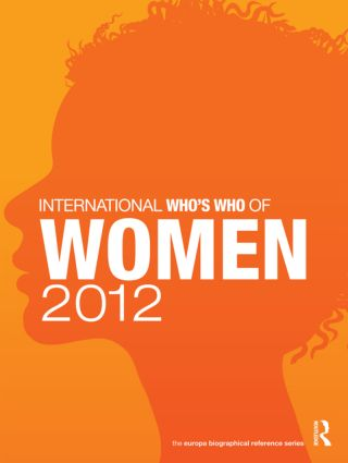 International Who's Who of Women 2012: 8th Edition (Hardback) book cover