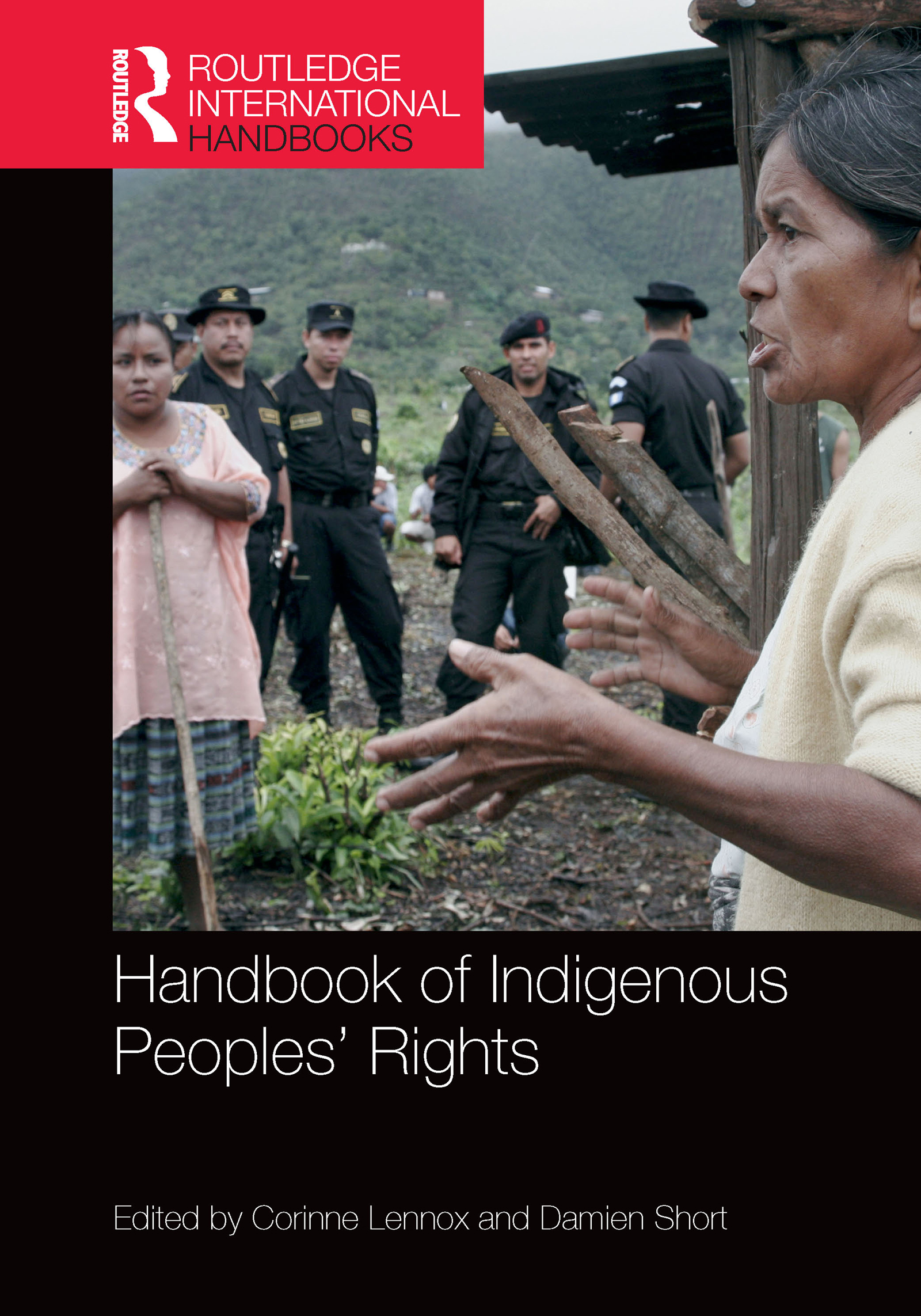 Handbook of Indigenous Peoples' Rights (Hardback) book cover