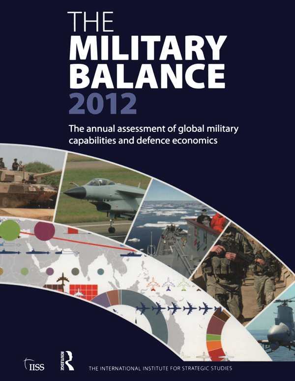 The Military Balance 2012 (Paperback) book cover