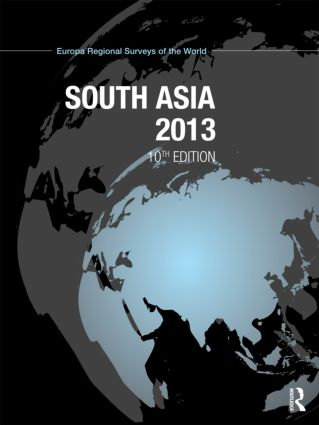 South Asia 2013: 10th Edition (Hardback) book cover