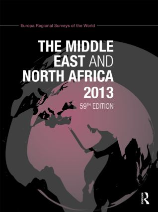 The Middle East and North Africa 2013: 59th Edition (Hardback) book cover