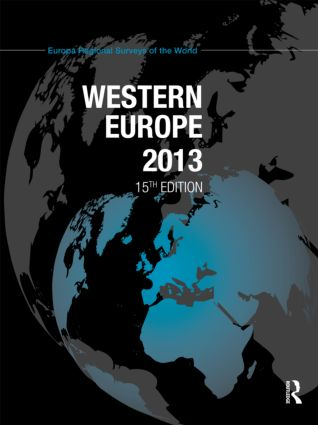 Western Europe 2013: 15th Edition (Hardback) book cover