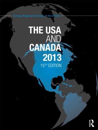 The USA and Canada 2013: 15th Edition (Hardback) book cover