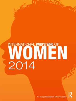 International Who's Who of Women 2014: 9th Edition (Hardback) book cover