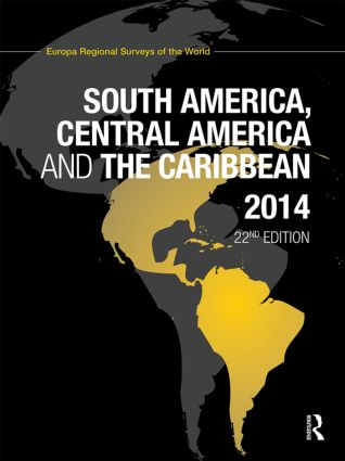 South America, Central America and the Caribbean 2014 book cover
