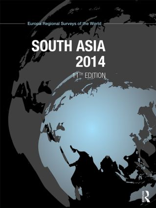 South Asia 2014: 11th Edition (Hardback) book cover