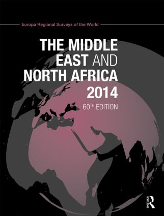 The Middle East and North Africa 2014: 60th Edition (Hardback) book cover