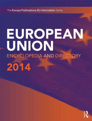 European Union Encyclopedia and Directory 2014: 14th Edition (Hardback) book cover