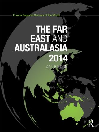 The Far East and Australasia 2014 book cover