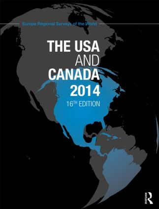 The USA and Canada 2014: 16th Edition (Hardback) book cover