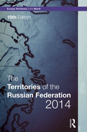 The Territories of the Russian Federation 2014 book cover