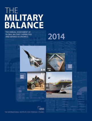 The Military Balance 2014 (Paperback) book cover