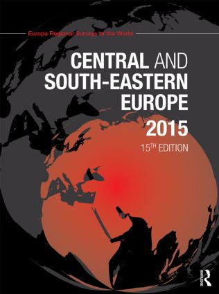 Central and South-Eastern Europe 2015: 15th Edition (Hardback) book cover